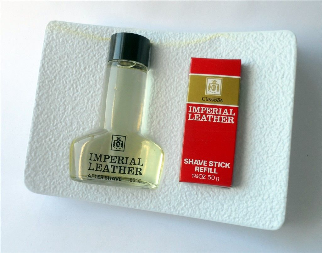 Vintage Gents Aftershave Gift Set Cussons Imperial Leather